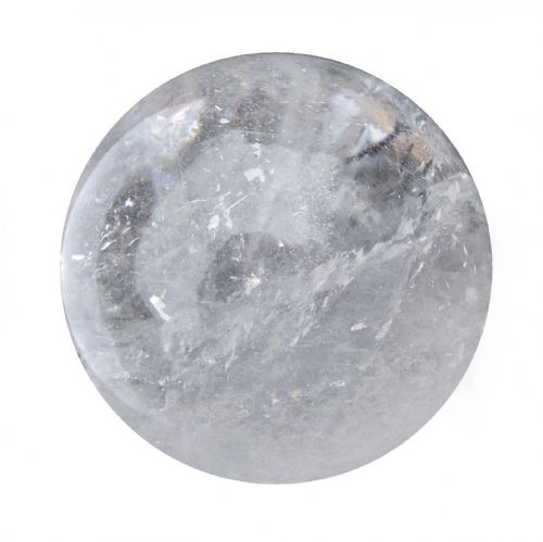 Rock Quartz Crystal Ball Scrying Gazing Fortune Telling Sphere 57mm 260g CB7